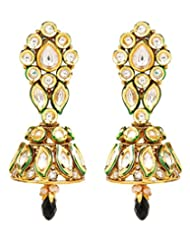 Akshim Multicolour Alloy Earrings For Women - B00NPY8VKY