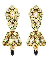 Akshim Multicolour Alloy Earrings For Women - B00NPY8VKY