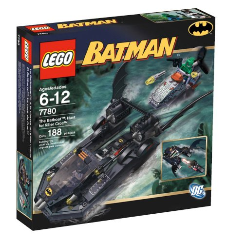 LEGO Batboat - Hunt for Killer Croc at Gotham City Store