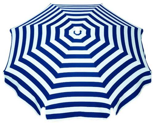 Schneider Sonnenschirm Capri, blau/weiß, ca. 200 cm Ø, 8-teilig, rund jetzt bestellen