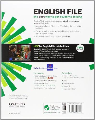 Libro English File third edition: English file digital