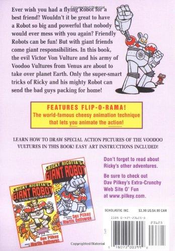 Ricky Ricotta's Mighty Robot vs. the Voodoo Vultures from Venus: Giant Robot vs. Voodoo Vultures from Venus