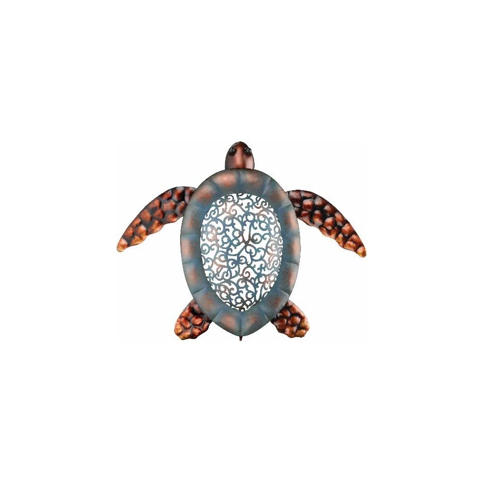 Shop Tropical Ocean Sea Turtle Metal Wall Art Decor at the  Home Décor Store. Find the latest styles with the lowest prices from Regal Art & Gift