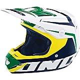 One Industries Atom Array Helmet (Kelly Green/Navy, Medium)