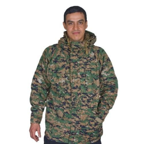 Outdoor Men's Enhanced Extreme Cold Weather Generation 1 Parka 3X Large Digital Woodland Camouflage - Outdoor at Sears.com