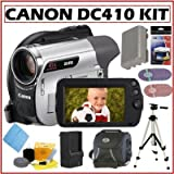 Canon DC410 DVD Camcorder + Accessory Kit