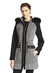 Laundry Women's Tweed Wool Coat with…