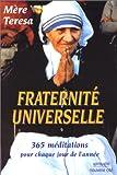 echange, troc Mère Téresa - Fraternité Universelle