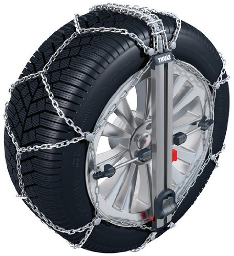 Thule CU-9 9mm Easy Fit Passenger Car Snow Chain - Size 104 (sold in pairs) (Snow Tires For Feet compare prices)