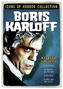 Icons of Horror Collection: Boris Karloff (The Boogie Man Will Get You / The Black Room / The Man They Could Not Hang / Before I Hang)