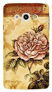 TrilMil Printed Designer Mobile Case Back Cover For LG L60