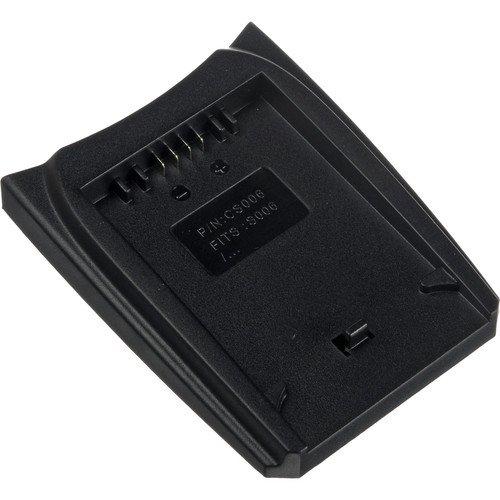 Watson Battery Adapter Plate For Cgr-D Series - Accepts Panasonic Cga-D220, Cga-D320, Cga-D54, Cgp-D28, Cgr-D08, Cgr-D16, Cgr-D28, Cgr-D53, Cgr-D54, Or Cgr-D815 Type Battery