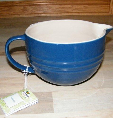 Reviews Le Creuset Poterie Stoneware 2 Liter Batter Bowl Mixing Jug ...
