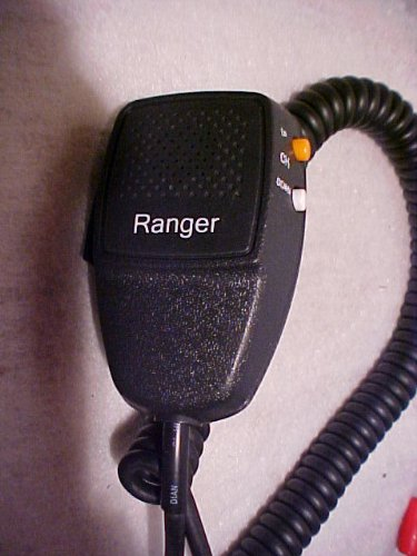 Texas Ranger Cb Ham Radio Stock Rci Mic 6 Pin Sra-158 Channel Up Down Buttons