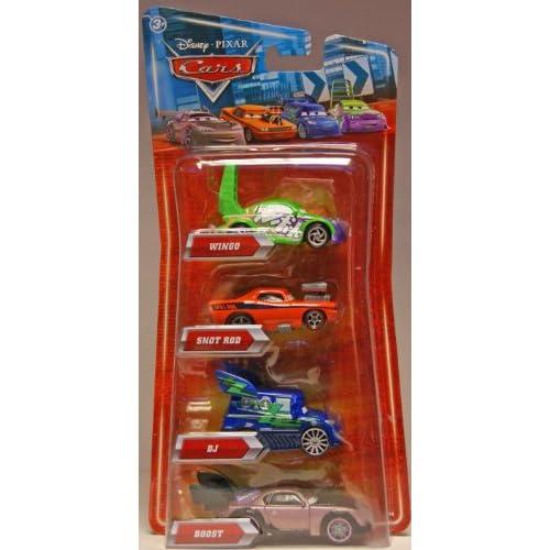Yupopnva Disney Pixar Cars Movie Exclusive 155 Die Cast 4pack