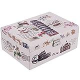 UberLyfe Classy Vintage Style Jewellery Box cum Organizer with Illustrious Italy Design (Pack of 1) - L (JB-001077-VNITY-L_01)