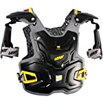 Leatt Adventure Adult Chest Protector Motocross/Off-Road/Dirt Bike Motorcycle Body Armor - Black / One Size