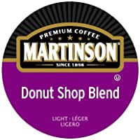 Martinson Donut Shop Blend 48 Single Serve RealCups Coffee