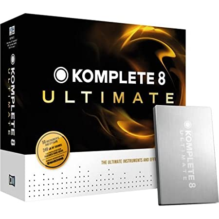 Native Instruments Komplete 8 Ultimate Software Suite