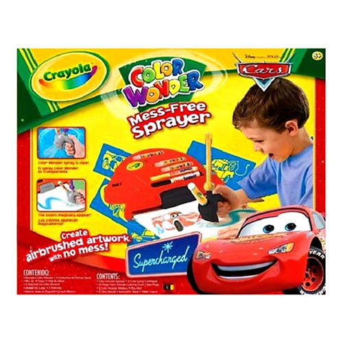 Buy Crayola Disney Pixar's Cars The Movie Color Wonder Sprayer