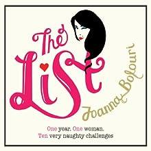 The List Audiobook by Joanna Bolouri Narrated by Caroline Guthrie