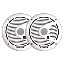 Dual DMS652 6 1/2-Inch 2-Way 175 Watt Poly, Marinized, Marine Speakers