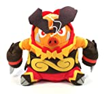 "Pokemon Best Wishes Black And White Banpresto Chibi Plush - 47343 - 6"" Enbuoh/Emboar"