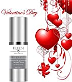 Kleem Organic VITAMIN C SERUM for Face with 10% Hyaluronic Acid. PROFESSIONAL Anti Aging Serum, Anti Wrinkle Treatment, Skin Tightening and Dark Spot Removal. Doctor Trusted