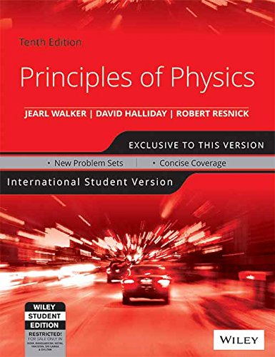 Principles of Physics: International Student Version Image