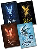 R.J. Anderson The Knife Sequence Collection - 4 Books RRP £24.96 (Knife; Rebel; Arrow; Swift)