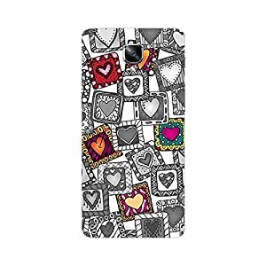 One plus 3 Cover - Hard plastic luxury designer case for one plus 3-For Girls and Boys-Latest stylish design with full case print-Perfect custom fit case for your awesome device-protect your investment-Best lifetime print Guarantee-Giftroom 469