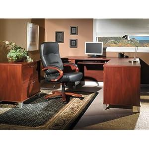 Home Office Furniture Set 2 - Somerset Collection - Bush Office Furniture - SOM-OSET-2-HC