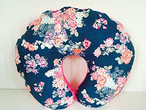 Soren by Angelique Flora Blue Nursing Pillow Cover