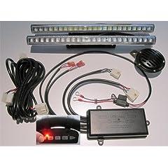 Golf Cart Light Kit LiTESeasy Deluxe Wireless LED & Signal Kit 5 Street W Reducer by TecScan