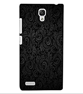 ColourCraft Beautiful Pattern Design Back Case Cover for XIAOMI REDMI NOTE 4G