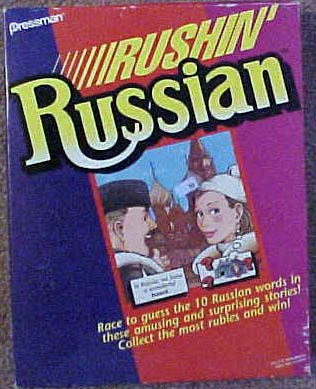 Rushin' Russian - Buy Rushin' Russian - Purchase Rushin' Russian (Pressman, Toys & Games,Categories,Games,Board Games,Educational Games)