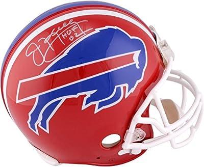 "Jim Kelly Buffalo Bills Autographed Riddell Proline Helmet with ""HOF 02"" Inscription - Fanatics Authentic Certified"