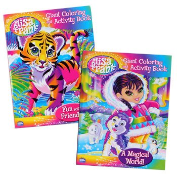 Lisa Frank Color and Activity Book (2pk) - 1