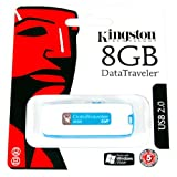 Kingston USB 2.0 DataTraveler G2 Flash/Pen Drive 8Gig (8gb/8 gig)