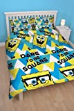 Spongebob Happy Double Rotary Duvet Set