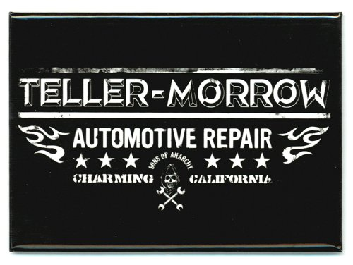 Sons Of Anarchy Teller Morrow Magnet by Animewild