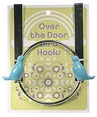 Bird Over The Door Hook, Blue