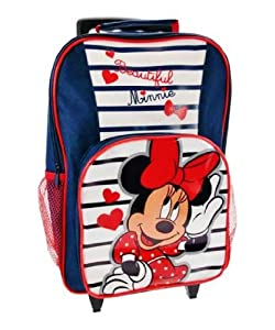 Disney Minnie Mouse - Childs Cabin Wheeled Bag Trolley Suitcase Luggage from ACHARACTERSHOP