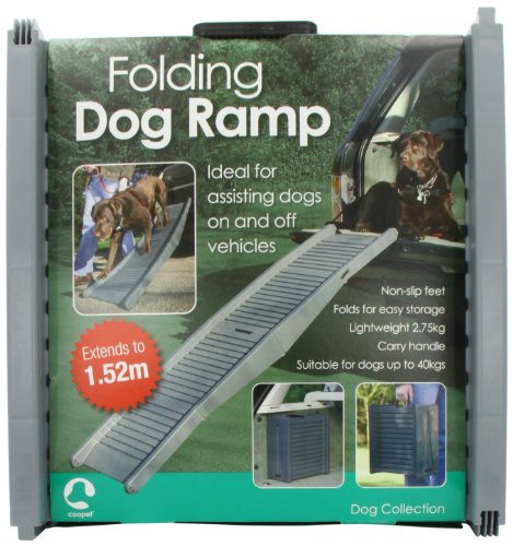Artikelbild: Faltbar Hund Reise Rampe