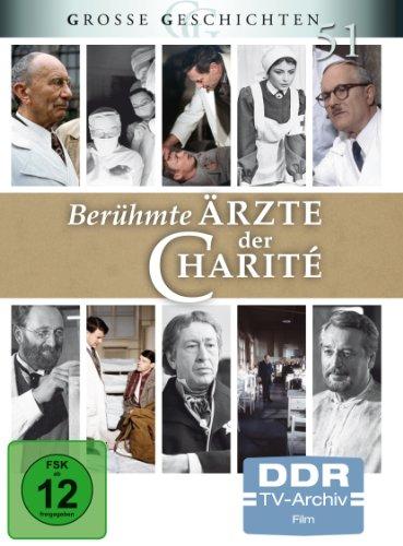 Berühmte Ärzte der Charité (DDR TV-Archiv - Große Geschichten 51) [4 DVDs]
