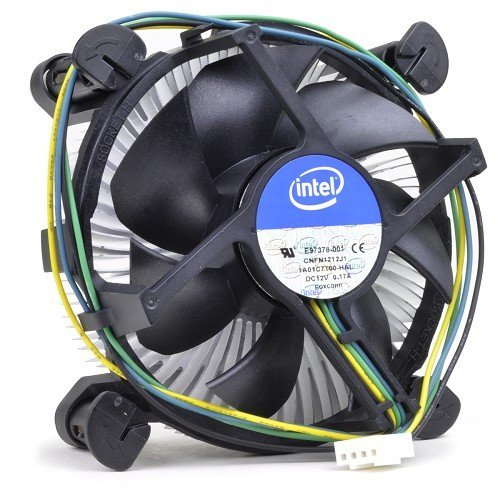 Intel Core i3 / i5 / i7 Socket 1150 / 1151 / 1155 / 1156 4-Pin Connector CPU Cooler With Copper Core Base & Aluminum Heatsink & 3.5-Inch Fan For Desktop PC Computer (Intel I7 Cooling compare prices)