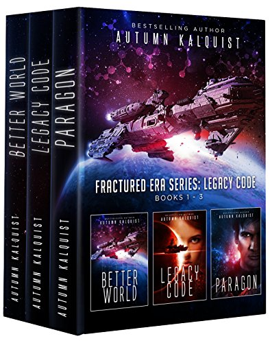 A brutal conspiracy threatens humanity's survival.  Boxed set alert at new low price! Autumn Kalquist's dark dystopian Fractured Era: Legacy Code Bundle (Books 1-3) (Fractured Era Series Box Set)