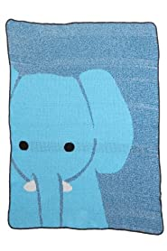 Green 3 Apparel USA-made Recycled Elephant Throw (Blue)