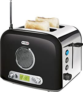 Breville VTT296 Black 2 Slice Radio Toaster