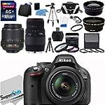 Nikon D5200 24.1MP DX-Format CMOS Sen...